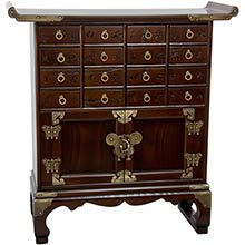 16 Drawer Korean Medicine Chest :: Asian Style Furniture