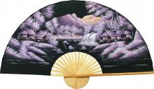 Red Night :: Oriental Wall Fans