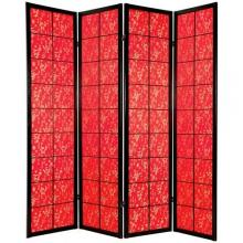 Red Feng Shui Screen :: Japanese Shoji Screens