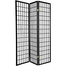 Japanese Window Screen (Black Finish) :: Japanese Shoji Screens