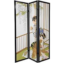Geisha Shoji Screen :: Japanese Shoji Screens