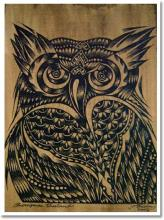 Japanese Owl :: Asian Prints