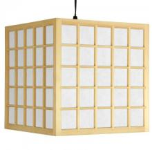 Japanese Geisha Lamp (Natural Finish) :: Japanese Lamps