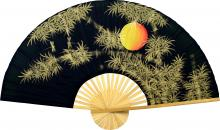 Bamboo Moon :: Chinese Wall Fans