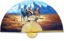 Indian Stallions :: Decorative Wall Fans