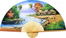 Seaside Cottage :: Oriental Wall Fans