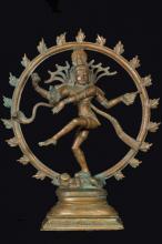 Cosmic Dance of Shiva :: Hindu Statues