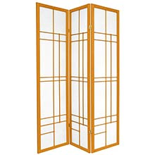 Hinaga Japanese Shoji Screen (Honey Finish) :: Japanese Shoji Screens