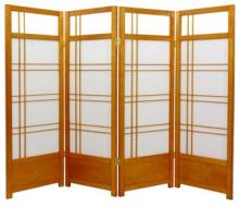 "48"" Yuku Aki Low Screen (Honey Finish) :: 48"" Short Shoji Screens"