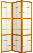Edo Period Shoji Screen (Honey Finish) :: Japanese Shoji Screens
