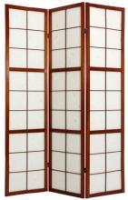 Edo Period Shoji Screen (Walnut Finish) :: Japanese Shoji Screens