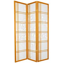 Bamboo Sunrise Japanese Shoji Screen (Honey Finish) ::