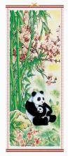 Chinese Panda Bears :: Chinese Scrolls
