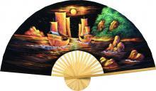 Velvet Ships :: Velvet Painting Wall Fans
