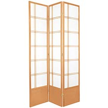"84"" Yuku Aki Screen (Natural Finish) :: 84"" Tall Shoji Screens"