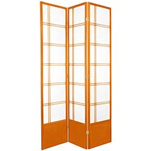 "84"" Yuku Aki Screen (Honey Finish) :: 84"" Tall Shoji Screens"