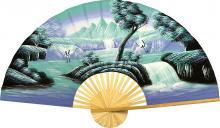 Aqua Fantasy :: Oriental Wall Fans