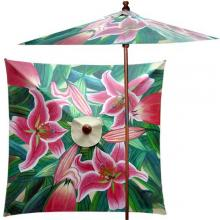 Vibrant Garden (Square) :: Large Patio Umbrellas