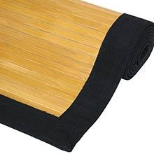 Natural Bamboo Rug ::