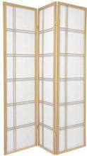 Double Side Japanese Shoji Screen (Natural Finish) :: Double Sided Shoji Screens