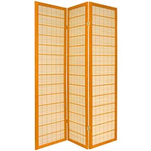 Double Side Koji Japanese Shoji Screen (Honey Finish) :: Double Sided Shoji Screens