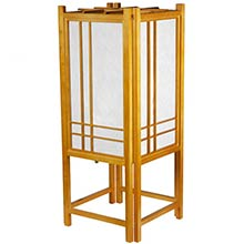 Migoto Japanese Lamp (Honey Finish) :: Japanese Lamps