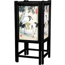 Cranes Chinese Lamp :: Chinese Lamps