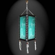 Winter Splash Lantern :: Paper Hanging Lamps