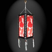 Autumn Splash Lantern :: Paper Hanging Lamps