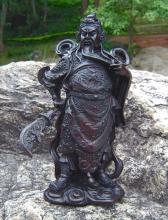 "9"" General Kwan Kun Statue :: Resin Statues"