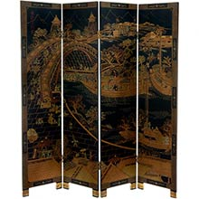 Ancient Chinese Shoji Screen :: Traditional Shoji Screens