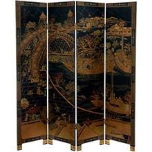 Ancient Chinese Shoji Screen :: Traditional Shoji Screens
