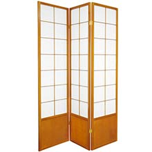 Japanese Zen Shoji Screen (Honey) :: Bamboo Decor