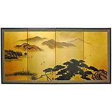 Taoist Mountains :: Chinese Silk Paintings