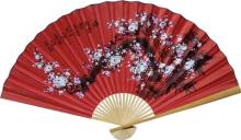 Prosperity Blossoms :: Asian Wall Fans