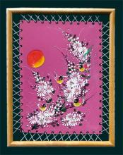 Framed Colorful Birds :: Oriental Paintings