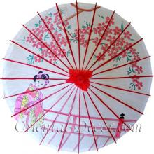 Japanese Geisha :: Paper Umbrellas