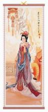 Asian Queen Chinese Scroll :: Chinese Scrolls