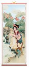 Chinese Beauty Scroll :: Chinese Scrolls