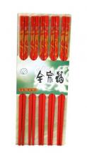 China Red Dragon Set of 5 Chopsticks