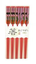 Sakura Blossom Set of 5 Chopsticks :: Designer Chopsticks