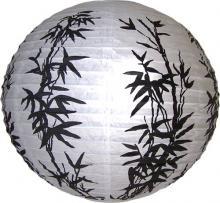 Black Bamboo Lantern