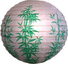 Green Bamboo Stalks Lantern :: Chinese Lanterns