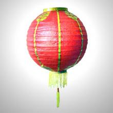 Traditional Chinese Red Lantern with Gold Characters :: Chinese Lanterns