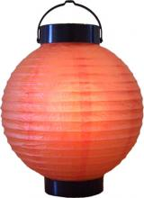 "8"" Orange Glowing Lantern ::"