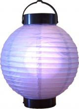 "8"" Purple Glowing Lantern ::"