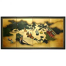 From Heaven Above :: Chinese Silk Paintings
