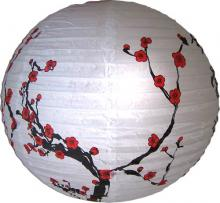 Red Sakura Lantern :: Chinese Lanterns