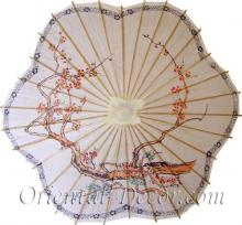 Scalloped Chinese Parasol :: Fashion Umbrellas