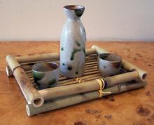 3 Piece Call of the Earth  Sake Set :: Sake Sets